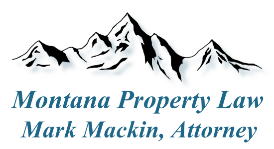 Montana Property Law