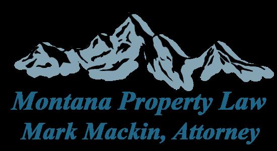 Montana Property Law