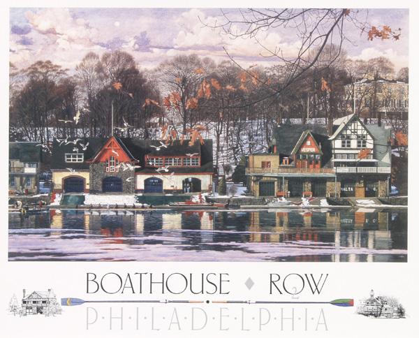 Boathouse Row 2 by Jamie Cavaliere
