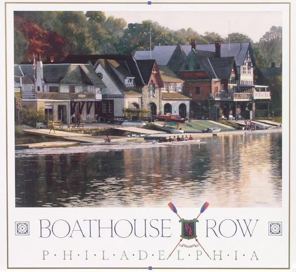 Boathouse Row by Jamie Cavaliere