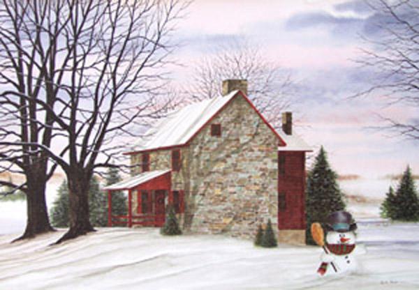 December Morning by Dennis Park
