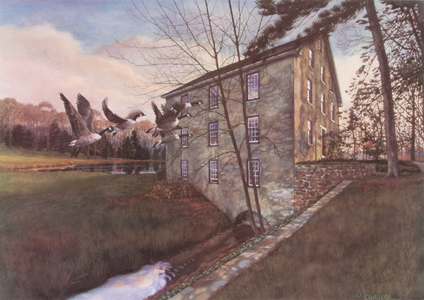Goin' Home By Way of the Mill by Jamie Cavaliere