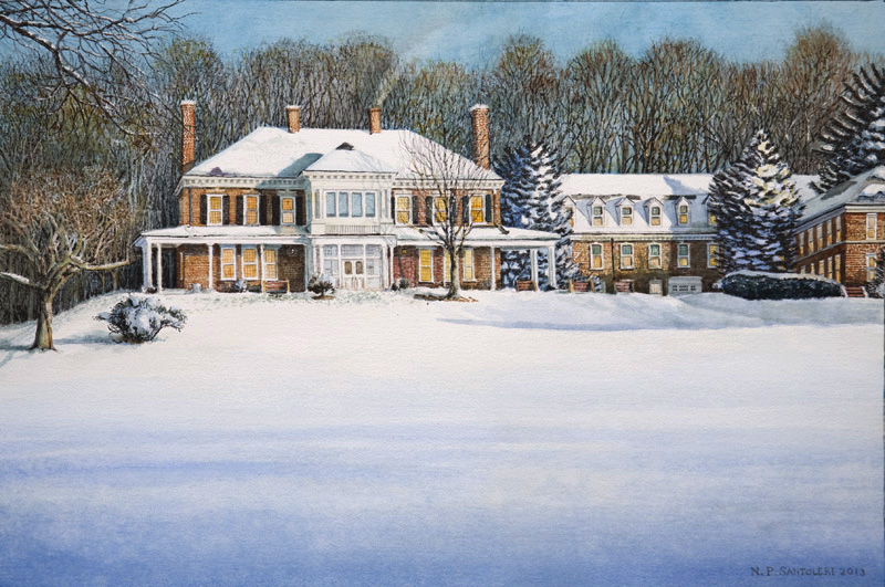 Malvern Retreat House by Nick Santoleri