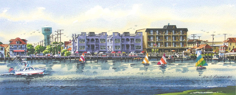 Morning on the Bay II Giclee by William Ressler