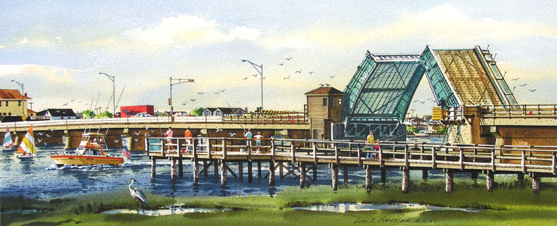 Morning on the Bay III Giclee by William Ressler