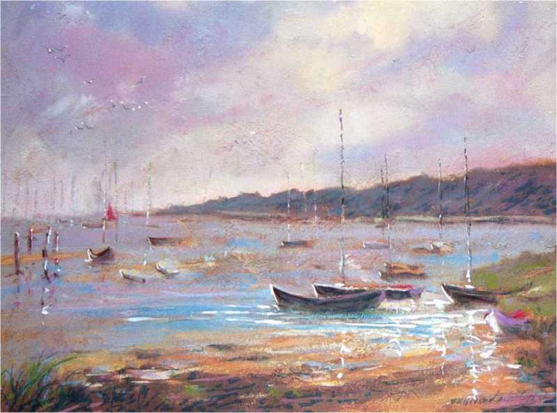 Nantucket Sunrise by Len Garon