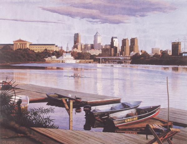 Philadelphia Skyline by Jamie Cavaliere