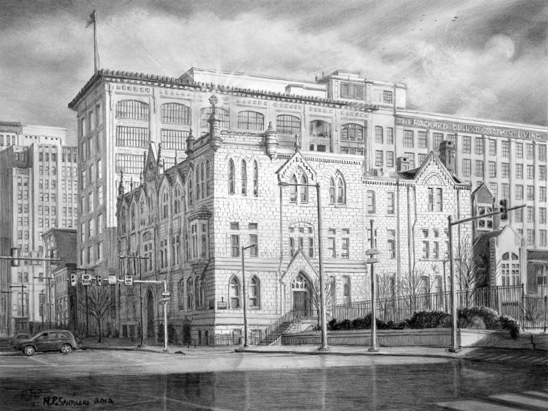 Roman Catholic High School by Nick Santoleri