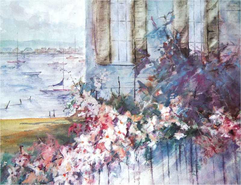 Summer Sail by Len Garon