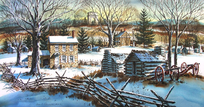 Valley Forge Memories Giclee by William Ressler