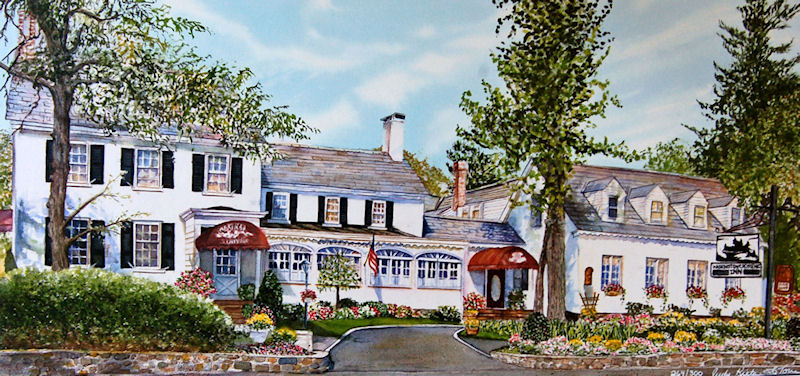 Washington Crossing Inn by Judy Kieta LaTorre