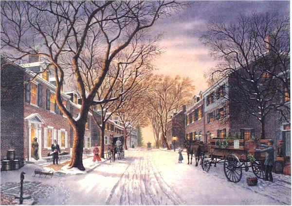 Twilight on the Strand by William Dawson