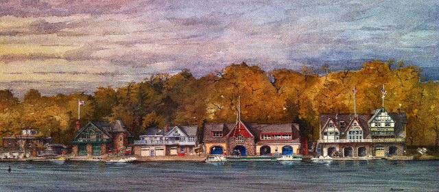 "Boathouse Row ""Autumn"" by Moss Adams"