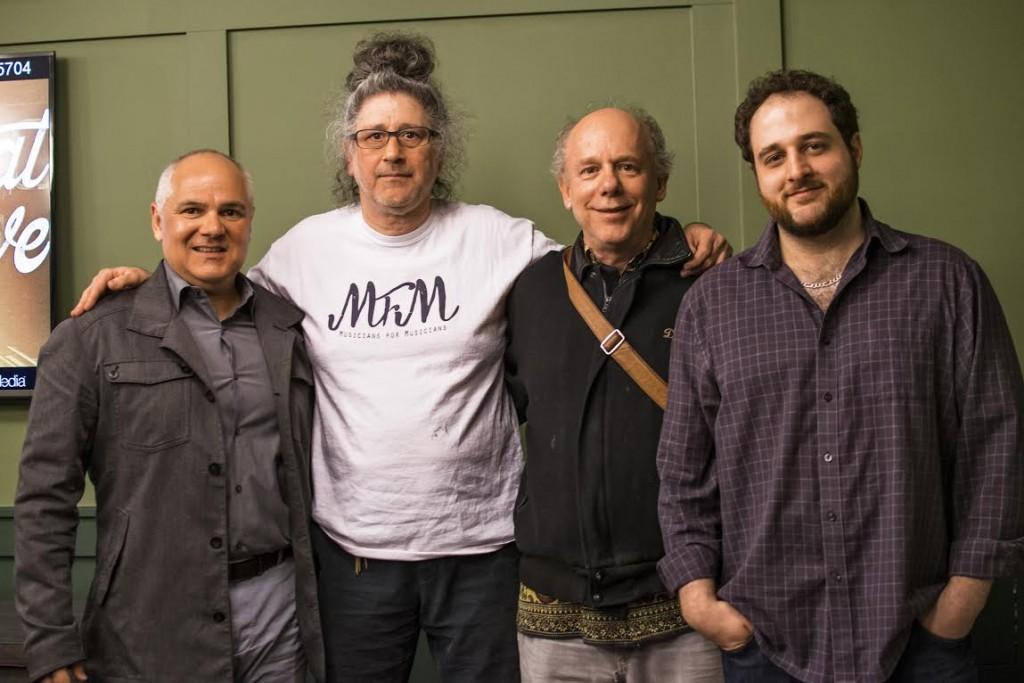 Mark Steiner, Sohrab, David Belmont & Paul Testagrossa