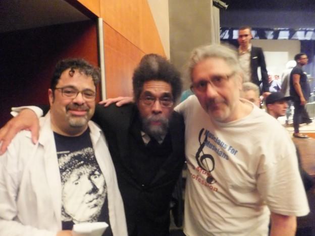 Arturo O'Farrill, Dr. Cornel West & Sohrab Saadat Ladjevardi @ Brooklyn College, May 17, 2017