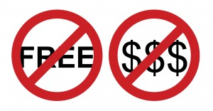 Professional musicians: Music Is Not Free 1