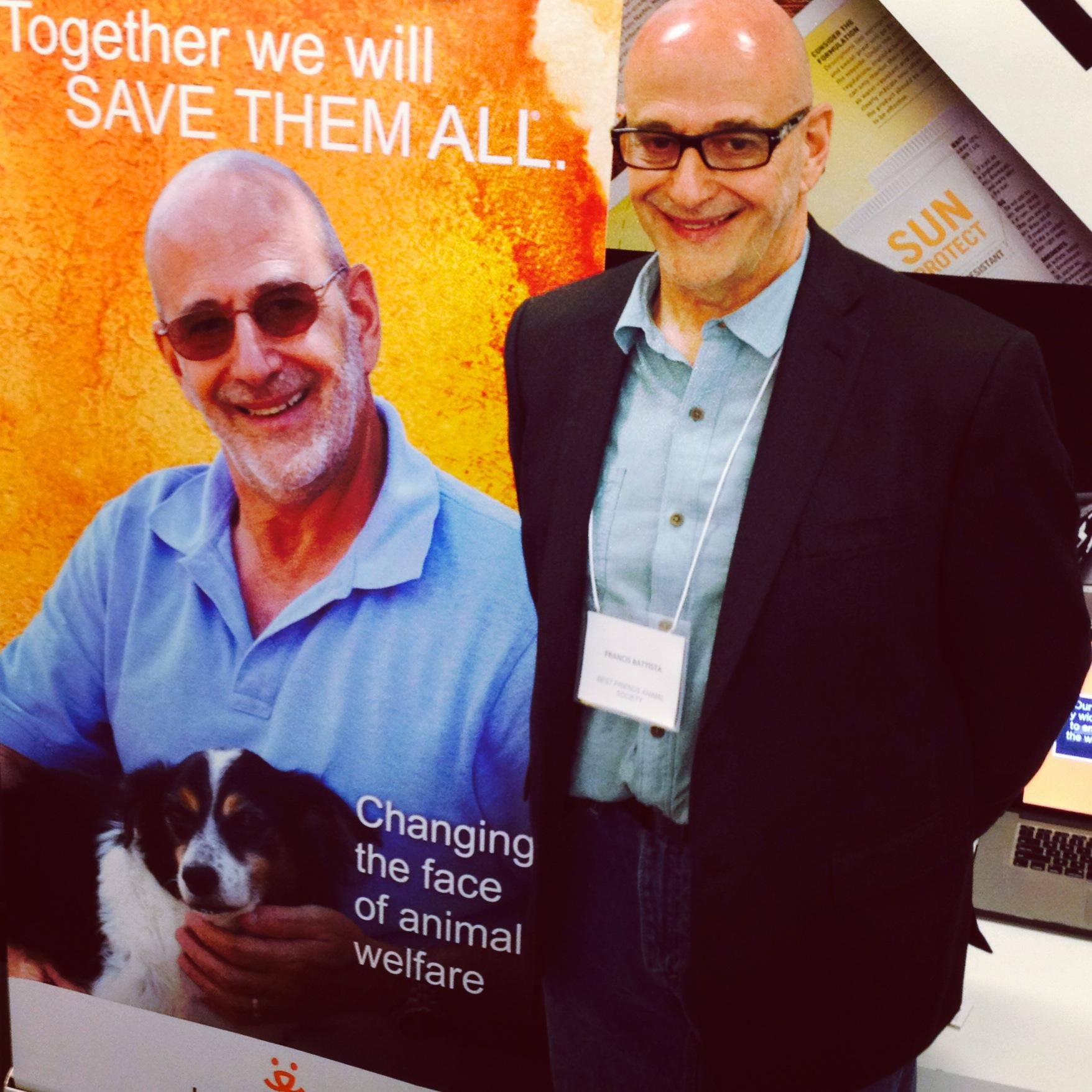 Best Friends Animal Society's Francis Battista at Innovation Cities Tour, NY