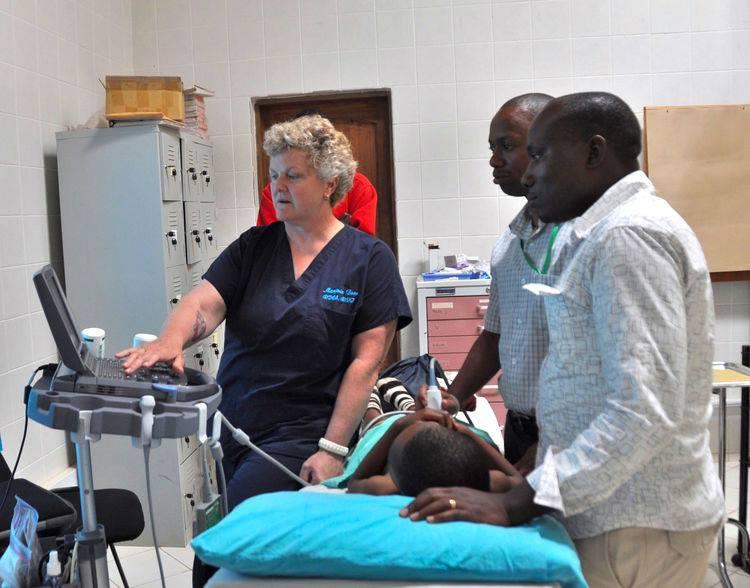 Nurse Barb Volunteers in Africa
