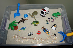 Sandbox for Play Therapy