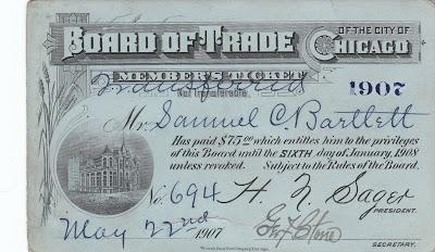 1907 CBOT membership
