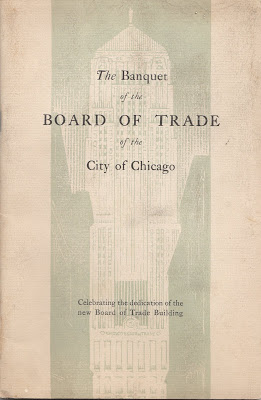 1930 CBOT opening banquet