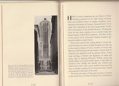 CBOT opening program 1930 page