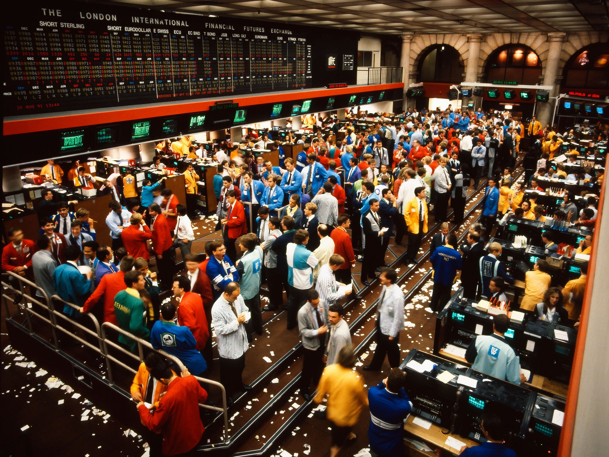 LIFFE trading floor