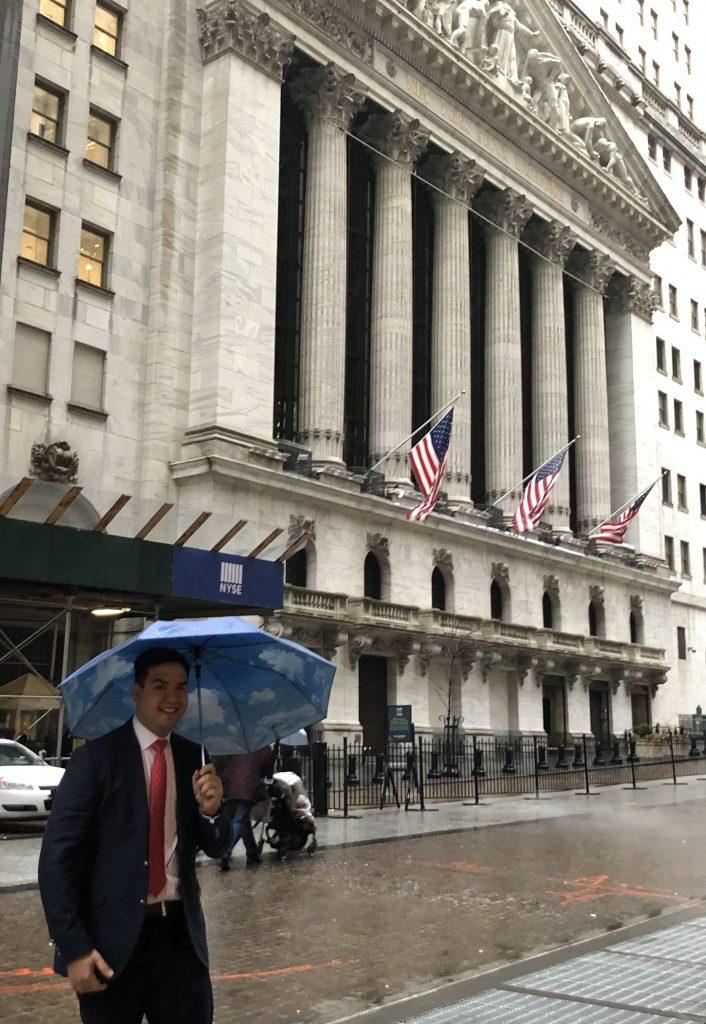 NYSE Wall Street storm