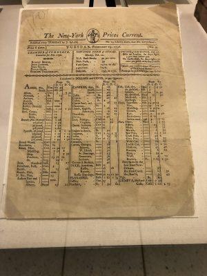 NYSE trading 1796