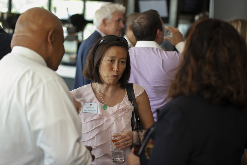 Business executives from throughout Tampa Bay are welcome to join one of our executive networking events--usually held once every quarter.