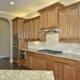 Kitchen cabinets light stain