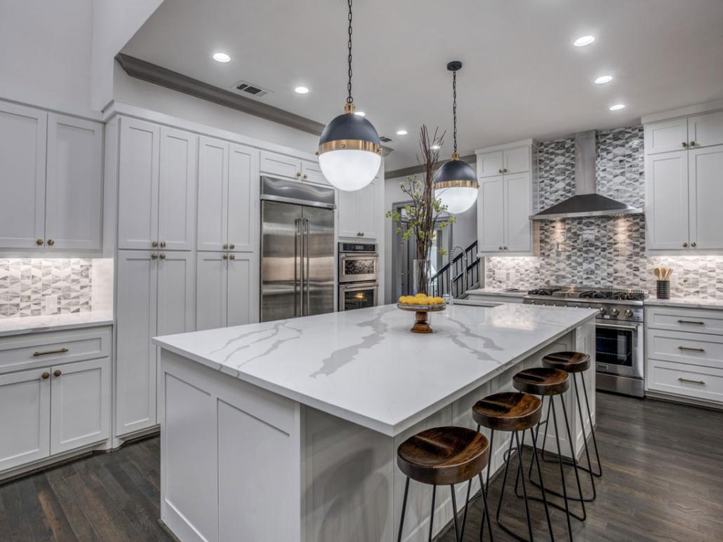 White shaker kitchen by CabSpec