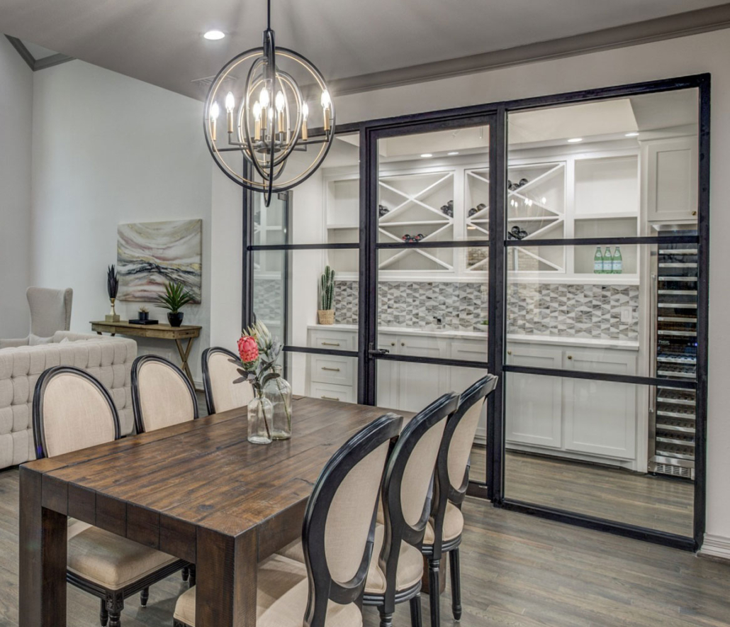 Butler's Pantry-Wine Room Big X Cabinets