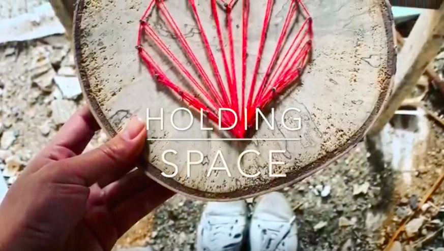 how to hold space