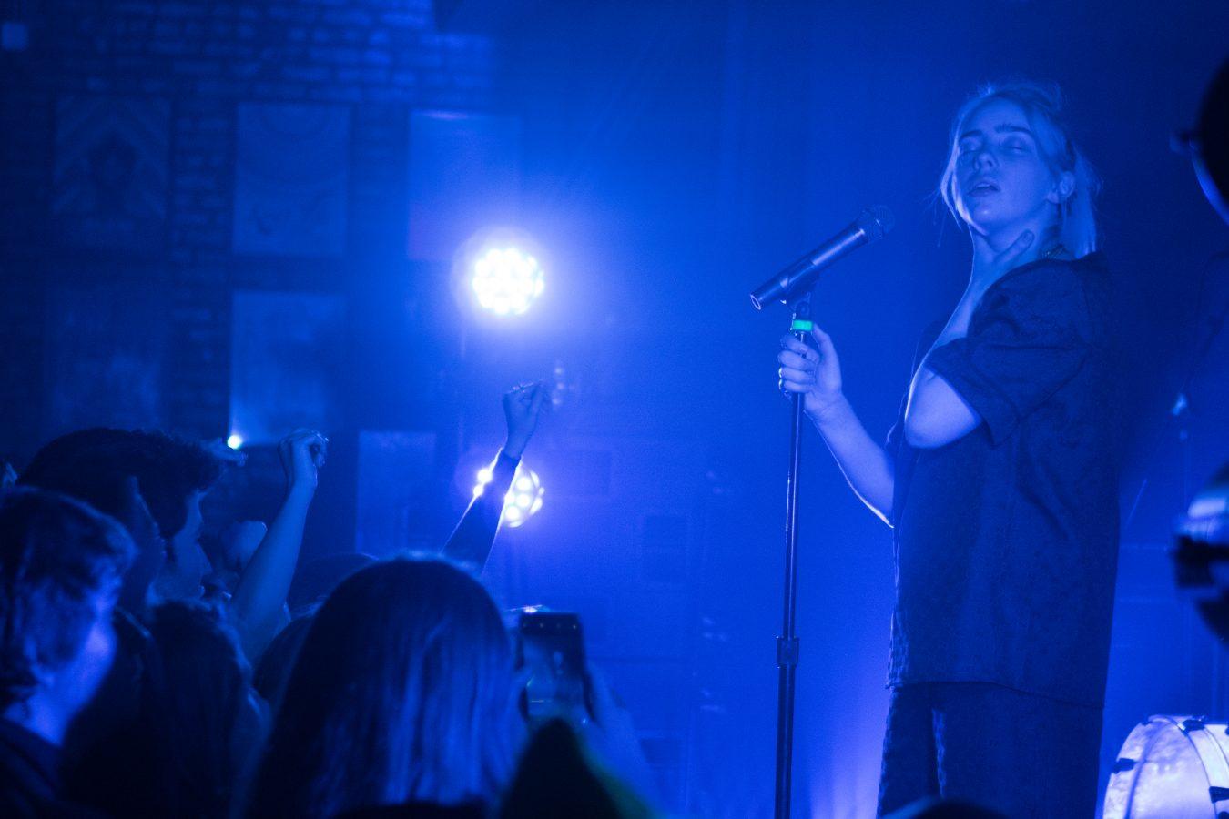 Billie Eilish, March 31, 2018. Photo by Samantha Reyes. Lincoln Hall, Chicago, IL