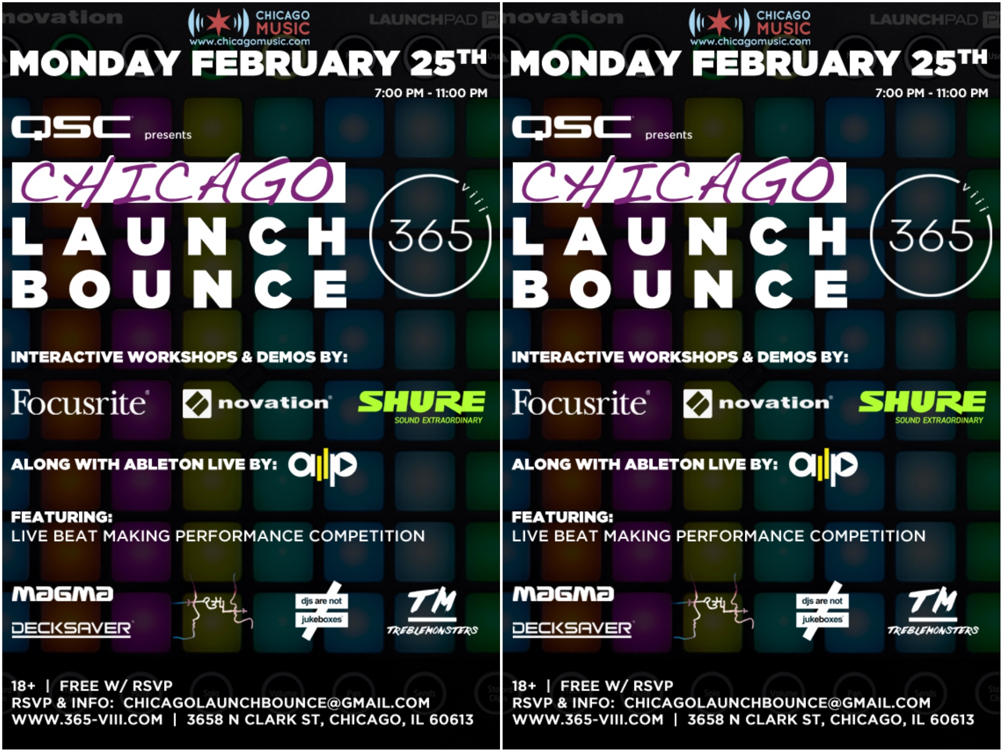 Chicago Launch Bounce