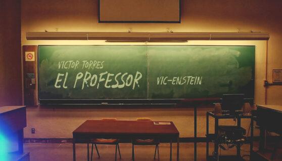 """Vic Torres """"El Professor Vic-Enstein"""