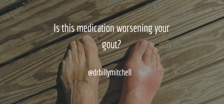 Is this medication worsening your gout?
