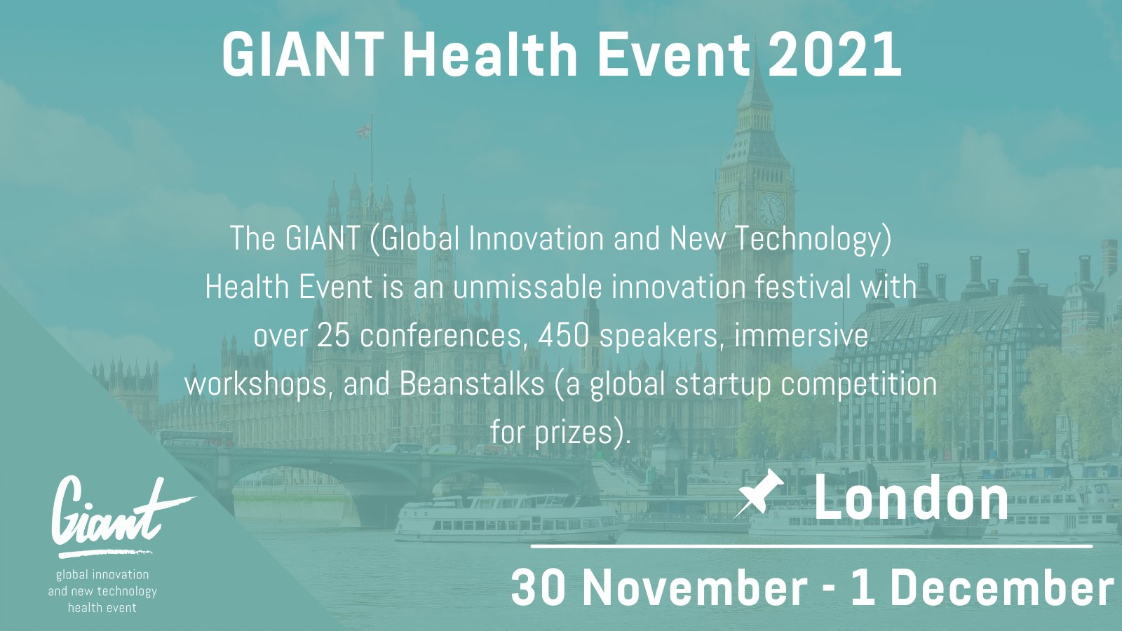 GIANT Health announces new Digital Therapeutics (DTx) conference track