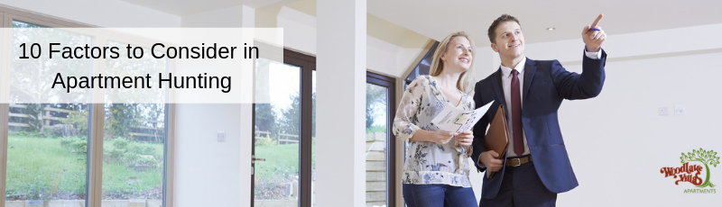 10 Important Factors to Consider in Apartment Hunting