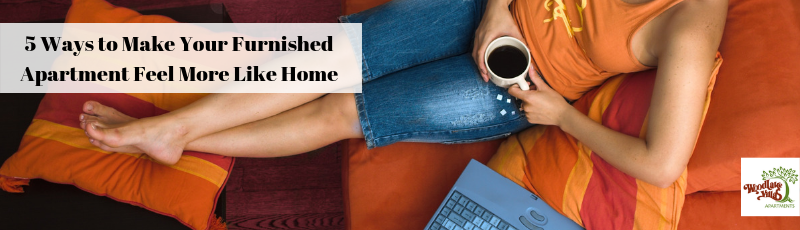 5 Ways to Make Your Furnished Apartment Feel More Like Home
