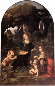 """Virgin of the Rocks"" by Leonardo da Vinci"
