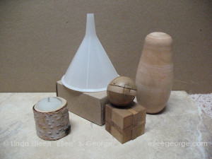 Monochrome simple forms