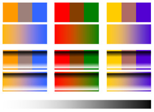 Color Tint Shade Tone Value Intensity