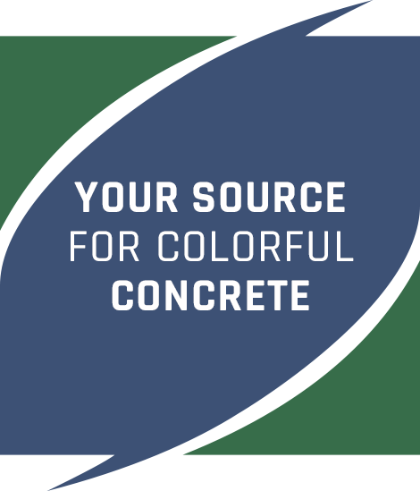 YOUR SOURCE FOR COLORFULL CONCRETE