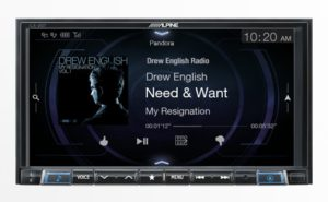 We have the new Alpine iLX-207 with both Apple CarPlay AND Android Auto in stock and on display!