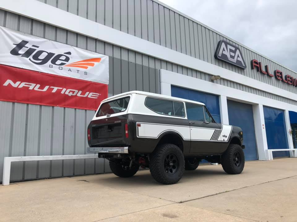 Rough Country Lift BFGoodrich KO2 Tires Mickey Thompson WHeels On A 1979 International Scout