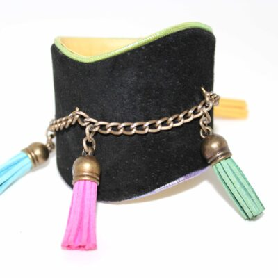 Kate Younger Designs Wave & Tassle Cuff