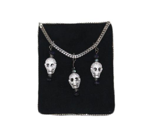 Skulls Pocket Square | $149