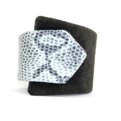 Black & White Braque Cuff